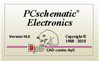 PC SCHEMATIC ELECTRONICS v10.0