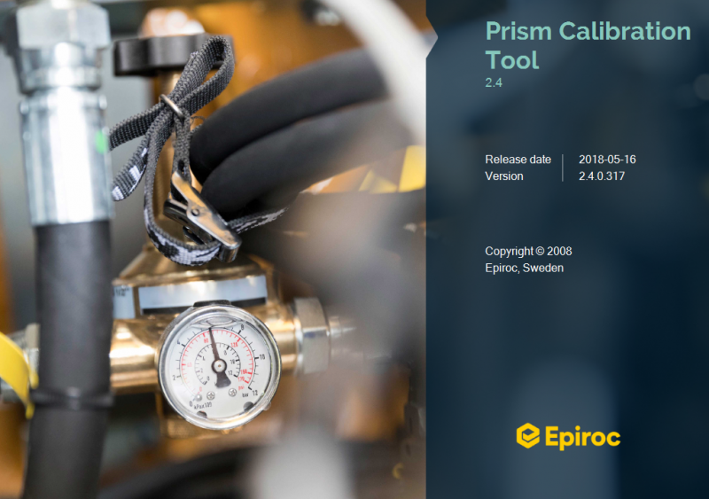 Atlas Copco - Prism Calibration Tool v2.4.0.317