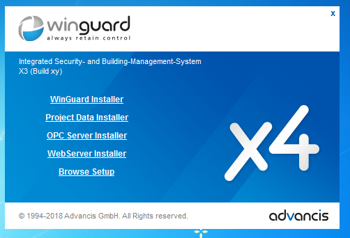 Advancis Software & Services GmbH - WinGuard X4 Build 5.6 x64