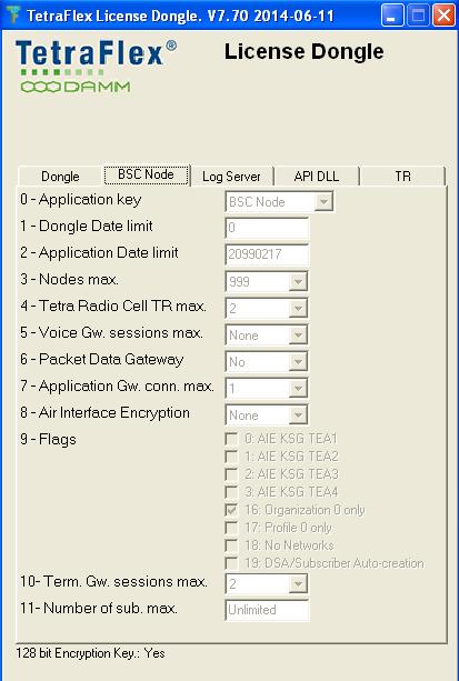 Brain Studio - DAMM TetraFlex TDI MATRIX Dongle Emulator