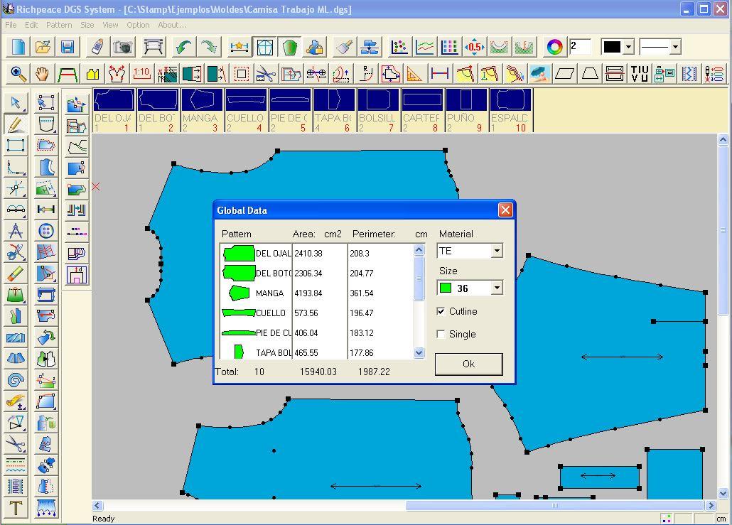 Brain Studio Richpeace Garment Cad Grading System Dgs V9 0 Senselock Dongle Emulator