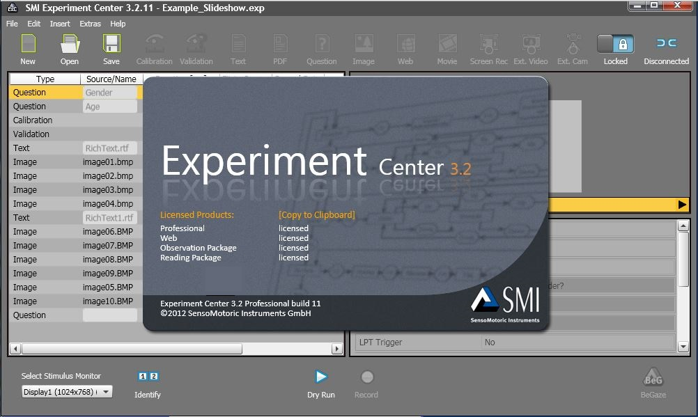 Image result for smi experiment suite