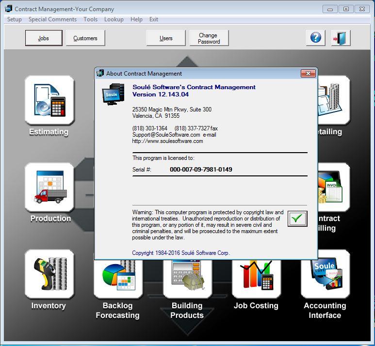 Soule Software Products V12.143.04 HARDLOCK